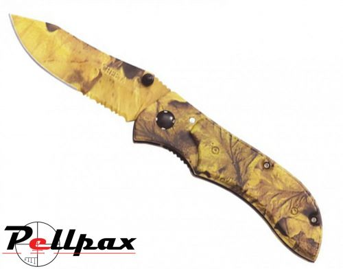 Kombat UK Camo Folding Knife