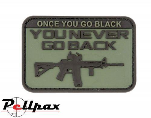 Kombat UK Go Black Patch