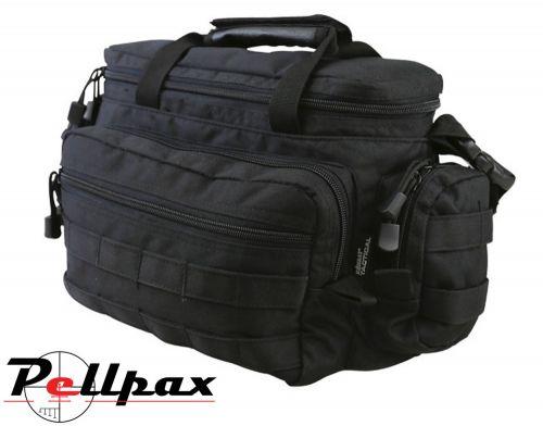 Kombat UK Alpha Army Military Grab Bag 15L: Black / BTP / Coyote