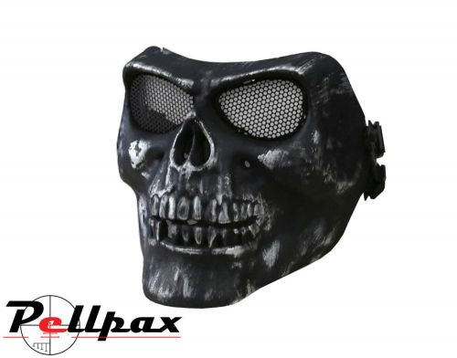 Kombat UK Half Face Skull Airsoft Mask