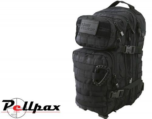 Kombat UK Hex-Stop Small Assault Backpack - 28L: Black / BTP / Coyote / G.M. Grey / O. Green