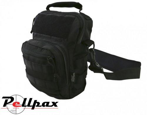 Kombat UK Hex-Stop Explorer Shoulder Bag : Black / BTP / Coyote / Olive Green