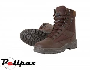 Kombat UK Half Leather/ Half Nylon Patrol Boot - MOD Brown (3-13)