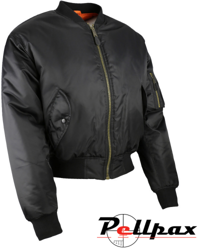 Kombat UK MA1 Bomber Jacket - Black