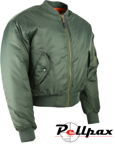 Kombat UK MA1 Bomber Jacket - Olive Green