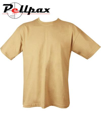 Kombat UK Military Plain T-Shirt - Coyote