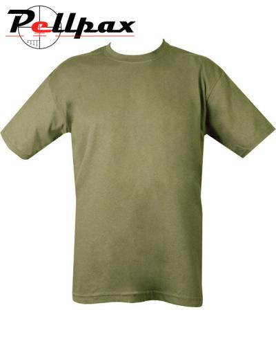 Kombat UK Military Plain T-Shirt - Olive Green