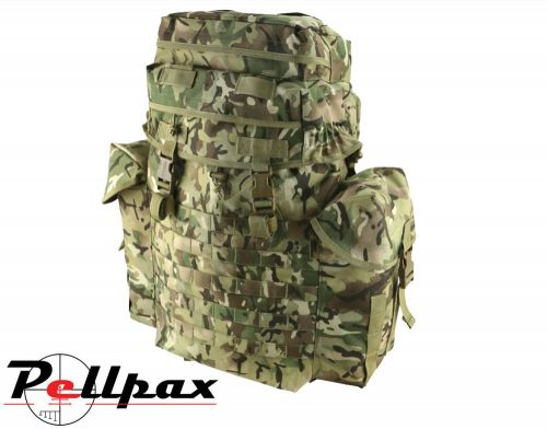 Kombat UK N.I. Army Military Patrol Molle Pack 38 L: BTP / Coyote / DPM