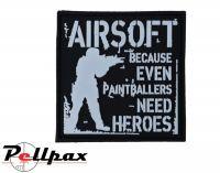 Kombat UK Paintballers Need Heroes Patch