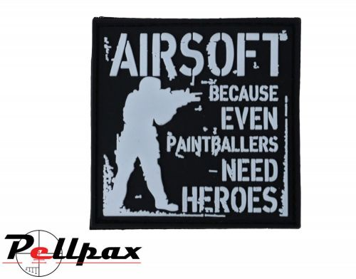 Kombat UK Paintballers Need Heroes Patch