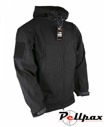 Kombat UK PATRIOT Tactical Softshell Jacket - Black