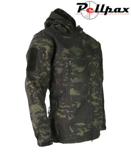 Kombat UK PATRIOT Tactical Softshell Jacket - MT Black