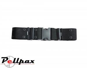Kombat UK Adjustable Quick-Release Belt: Black / Green