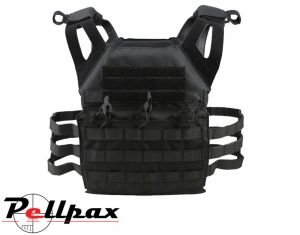 Spec-Ops Jump Army Airsoft Plate Carrier: Black / Coyote / Black BTP / Olive Green / BTP
