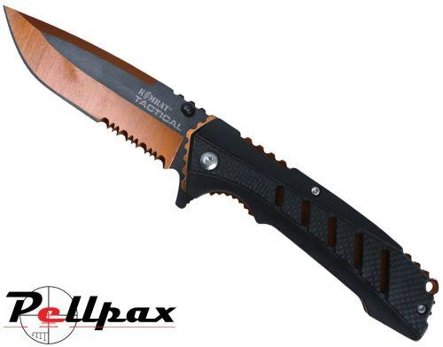Kombat UK Adventure Survival Lock Folding Knife