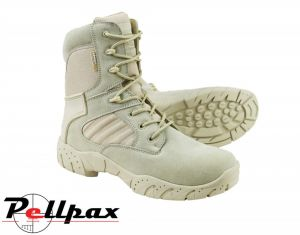 Kombat UK Mens Half Leather Tactical Pro Boot - Desert