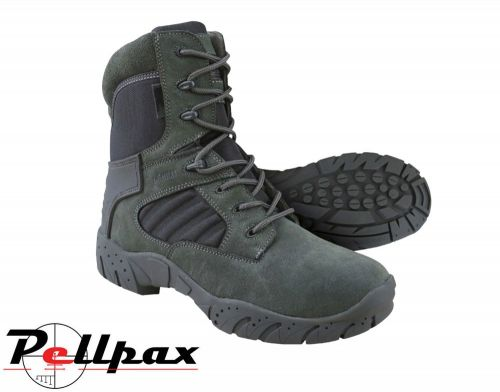 Kombat UK Mens Army Style Tactical Pro Boot - Gunmetal