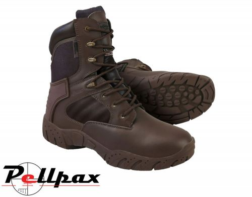 Kombat UK Tactical Pro Boot Leather / Nylon - MOD Brown