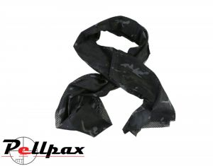 Kombat UK Military Tactical Scarf: BTP Black / BTP /  Raptor Kam Jungle