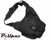 Tactical Shoulder Bag - 7 Litre Black