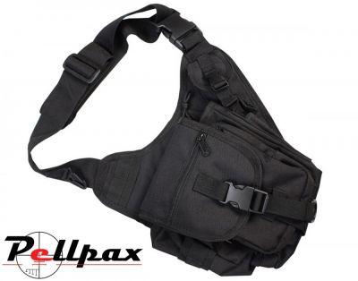 Tactical Shoulder Bag - 7 Litre Black