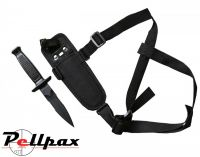 Kombat UK Tactical Shoulder Holster Knife