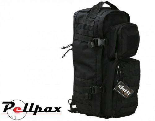 Kombat UK Military Tactical MOLLE Sling Bag 30L Black