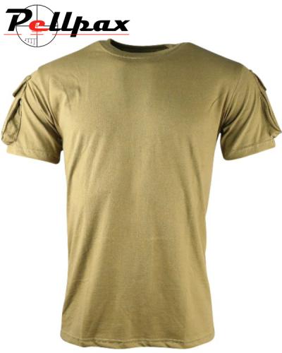 Kombat UK Tactical T-shirt - Coyote