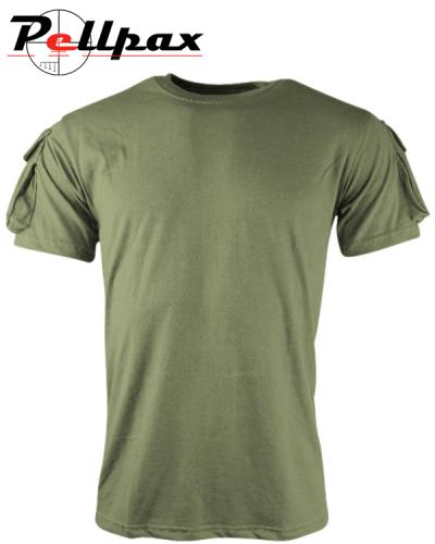 Kombat UK Tactical T-shirt - Olive Green