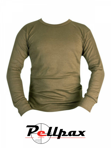 Kombat UK Thermal Long Sleeved Top - Olive Green