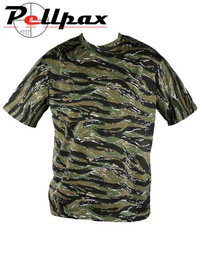Kombat UK Tiger Stripe T-Shirt