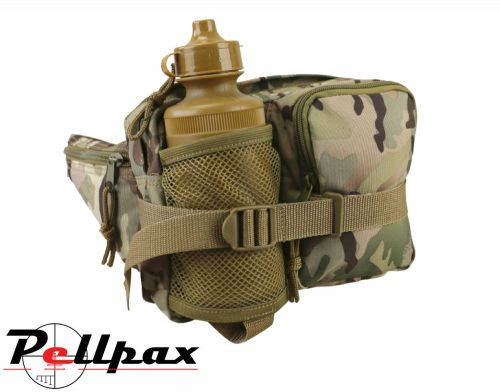 Kombat UK Military Waist Bag with Water Bottle