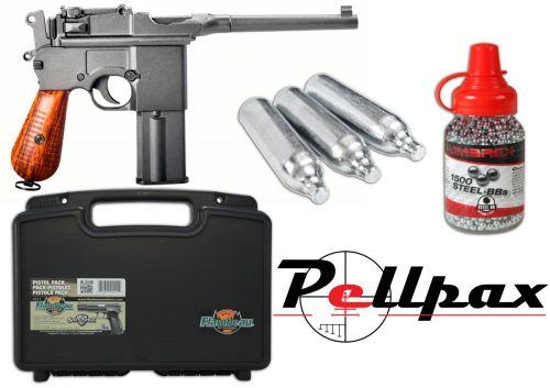 KWC M712 Broom Handle Mauser Full Kit - 4.5mm BB