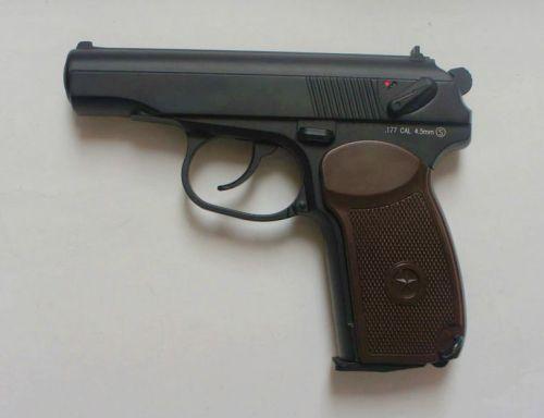 KWC PM Makarova Non Blowback - 4.5mm BB Air Pistol - EX Display