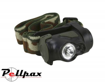 Kombat UK Predator Camo LED Headlamp