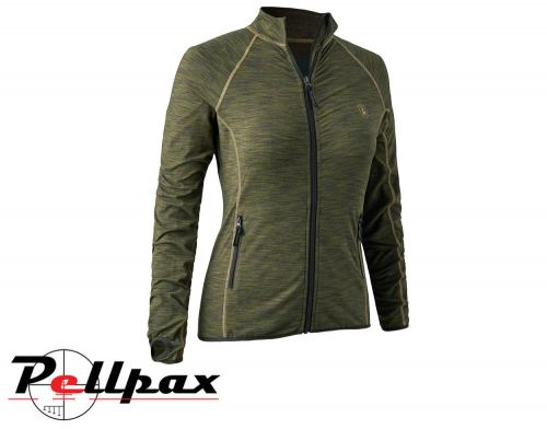 Lady Insulated Fleece in Green Melange by Deerhunter