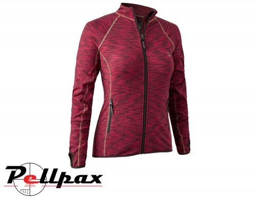Lady Insulated Fleece in Red Mel by Deerhunter