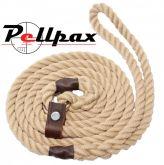 Natural Rope Slip Lead 10mm / 142cm