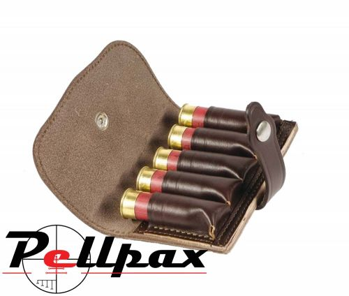 Bisley Leather Cartridge Pouch - Shotgun Cartridge / Choke