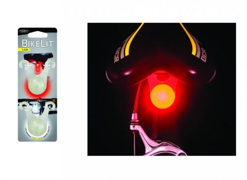 Nite Ize BikeLit LED Combo Pack - White & Red