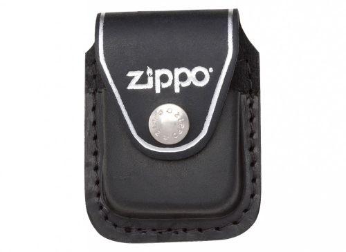 Zippo Black Leather Pouch