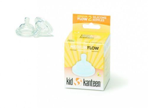 Klean Kanteen Medium Flow Nipple - 2 Pack