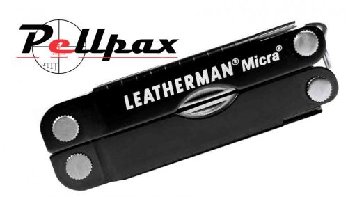 Leatherman Micra Keychain Multi-Tool - Black