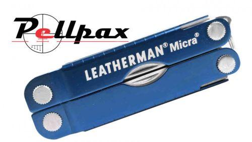 Leatherman Micra Keychain Multi-Tool - Blue
