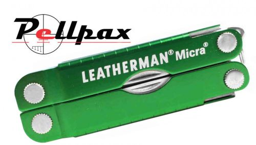 Leatherman Micra Keychain Multi-Tool - Green