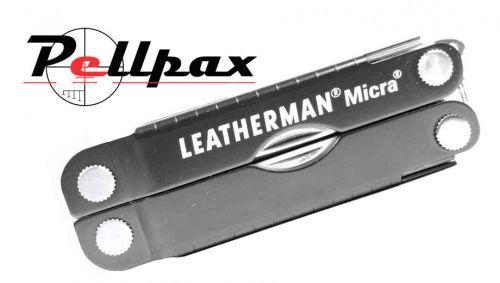 Leatherman Micra Keychain Multi-Tool - Grey