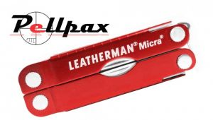 Leatherman Micra Keychain Multi-Tool - Red