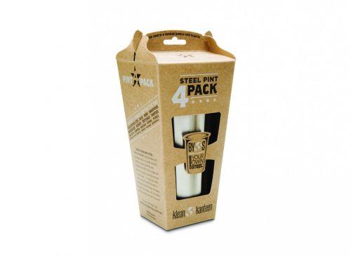 Klean Kanteen Pint Cup 473ml 4 Pack