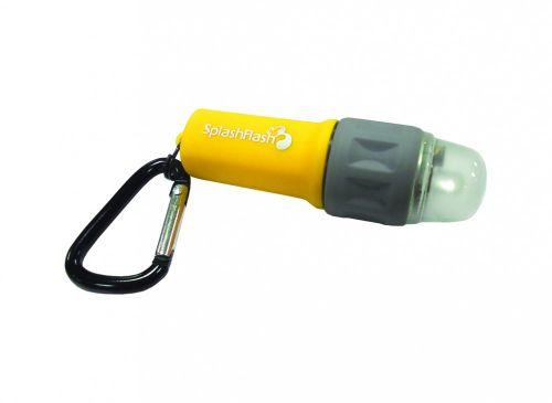 Ultimate Survival SplashFlash LED Light - Yellow Marine