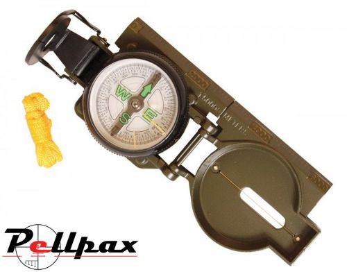 Kombat UK Military Metal Lensatic Compass